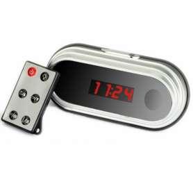 Réveil camera espion haute resolution 1080P affichage numérique télécommandé