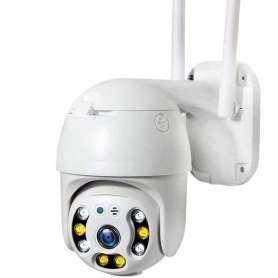 Camera de surveillance panoramique Rotative IP et Wifi 355° 1080P vision de nuit