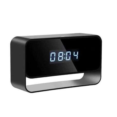 Réveil LED camera espion Full HD 1080P IP Wifi vision à infrarouge