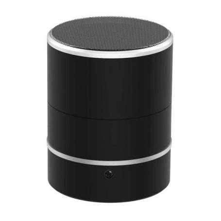 Enceinte Bluetooth à caméra espion à tête rotative à 180° Wifi IP