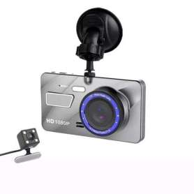 Dashcam double 1080P infrarouge et détecteur de mouvement