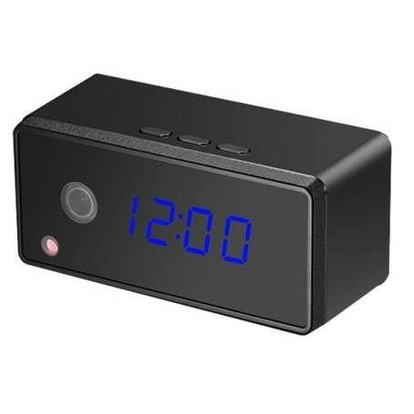 Réveil camera espion haute définition 1080P Wifi vision à infrarouge