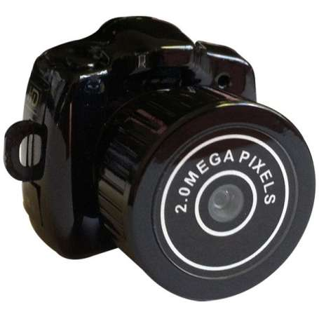 Caméra espion en forme d'appareil photo miniature