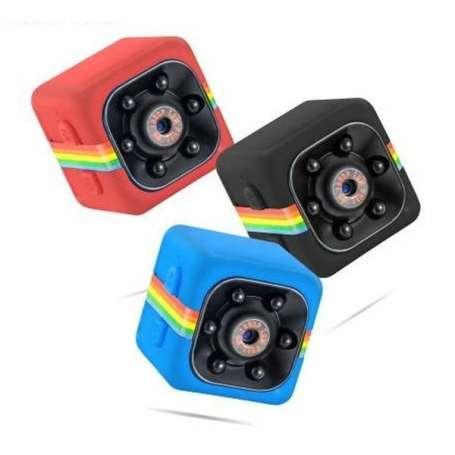 Mini camera espion résolution haute qualité 1080P vision à infrarouge carré