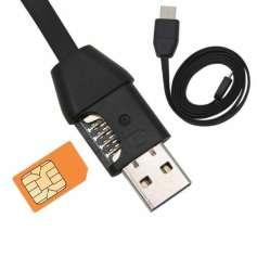 Câble chargeur à traceur GPS et système d'écoute mouchard