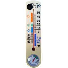 Thermomètre camera espion 4Go intérieur et extérieur