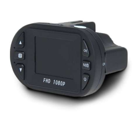 Dashcam à vision de nuit Full HD 1080P surveillance voiture