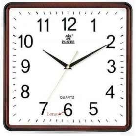 Horloge murale camera espion Haute définition 720P Wifi carré