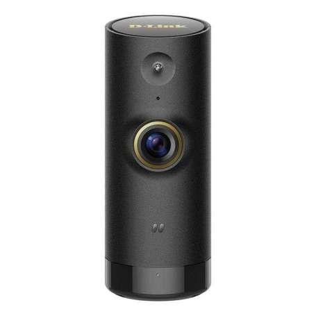 Caméra surveillance discrète noire à détecteur de mouvement et de son wifi