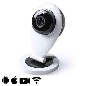 Caméra de surveillance à vision nocturne et connectivité wifi sous iOS et Android