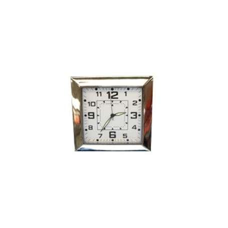 Horloge de table avec caméra espion carrée