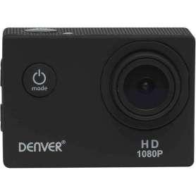Caméscope de sport noir avec boîtier de protection 1080P full HD