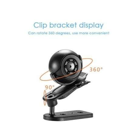 Micro caméra 1080 HD à vision nocturne et détection de mouvement