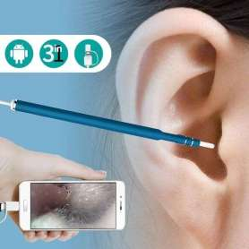 Endoscope avec micro caméra HD 720P pour smartphone