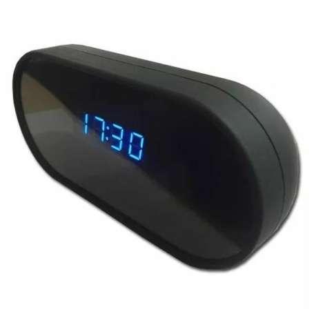Réveil camera espion 1080P Full HD Wifi vision nocturne détecteur de mouvement