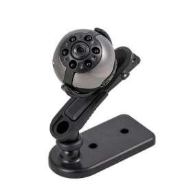 Micro caméra Full HD 1080P avec vision nocturne et capteur de mouvement