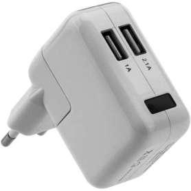 Chargeur secteur avec USB et caméra espion 1080P IP WIFI détection de mouvement