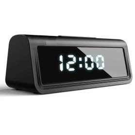 Réveil camera espion Full HD 4K Wifi detecteur de mouvement vision de nuit